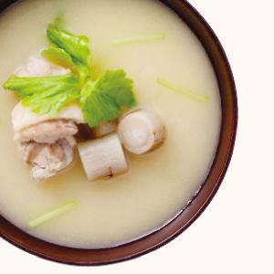 の 味噌汁 ごぼう かぼすのお味噌汁:今日のお味噌汁